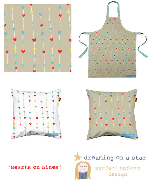 Hearts on Lines Design Collection