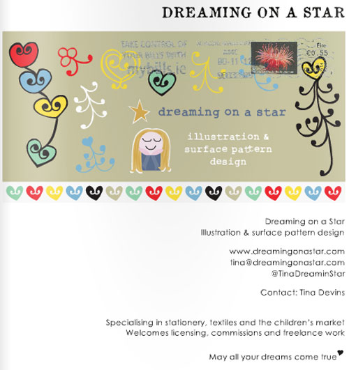 Copyright 2012 Dreaming on a Star