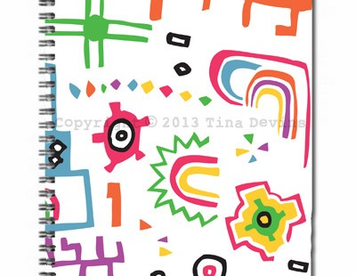 Urban Rainbow Notebook (Copyright) Dreaming on a Star