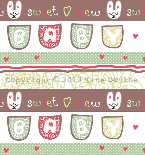Hallmark New Baby Competition - Nitey Nite Baby Bunny Pattern