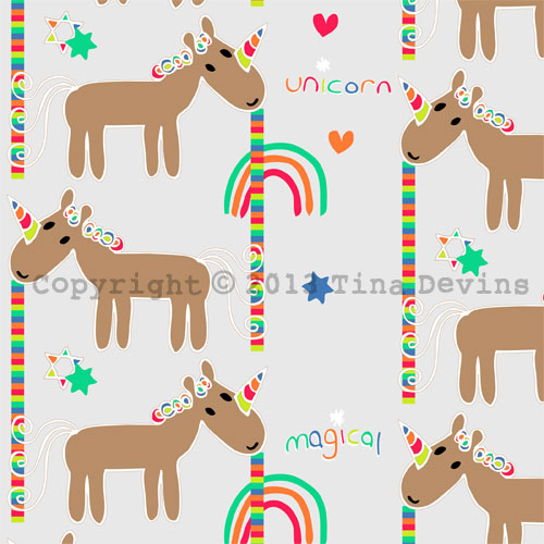 dreaming-on-a-star-surface-pattern-design-illustration-tina-devins-cute-quirky-unicorn-colorful-pretty-animal-love-day-mythical-fairytale-rainbow