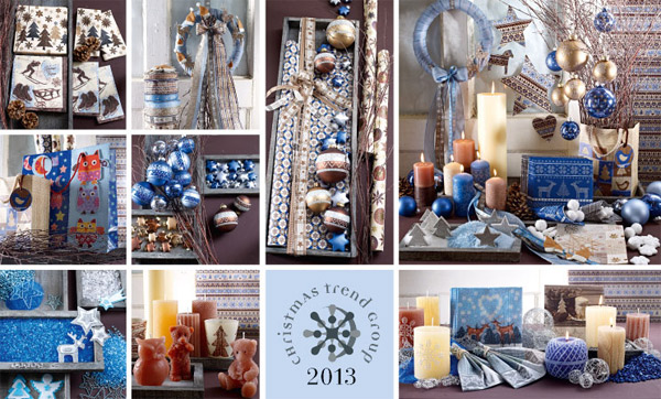 Christmas Trend 2013 - Blue Chalet