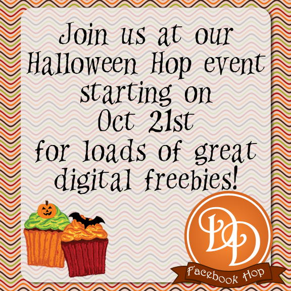 Digital Designers Hallowe'en Facebook Hop
