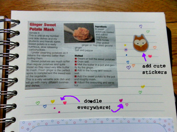 Recipes & Doodles