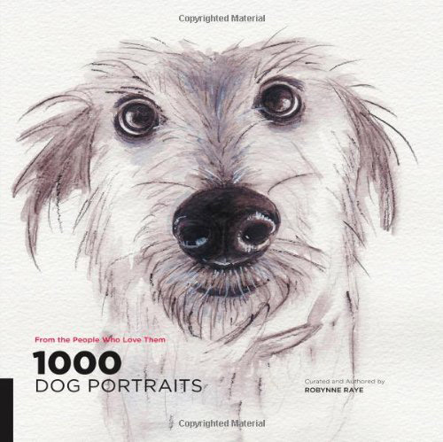 1000 Dog Portraits - Dreaming on a Star Illustration