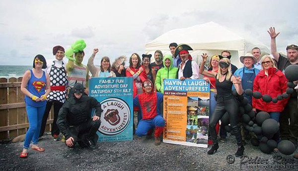 Superhero Sunday at Strandhill Market (Image copyright Didier Riva)
