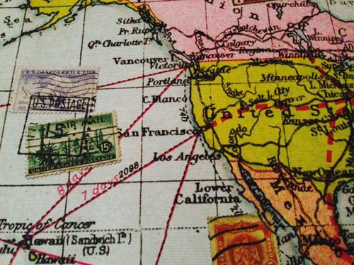 Vintage Map Print