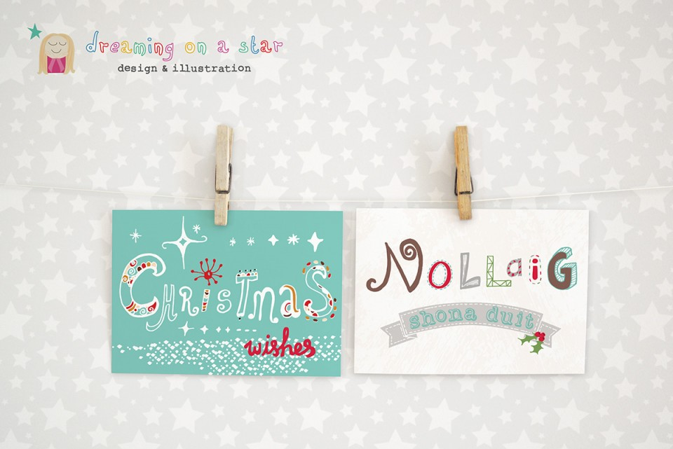 Christmas Cards by Dreaming on a Star 2015