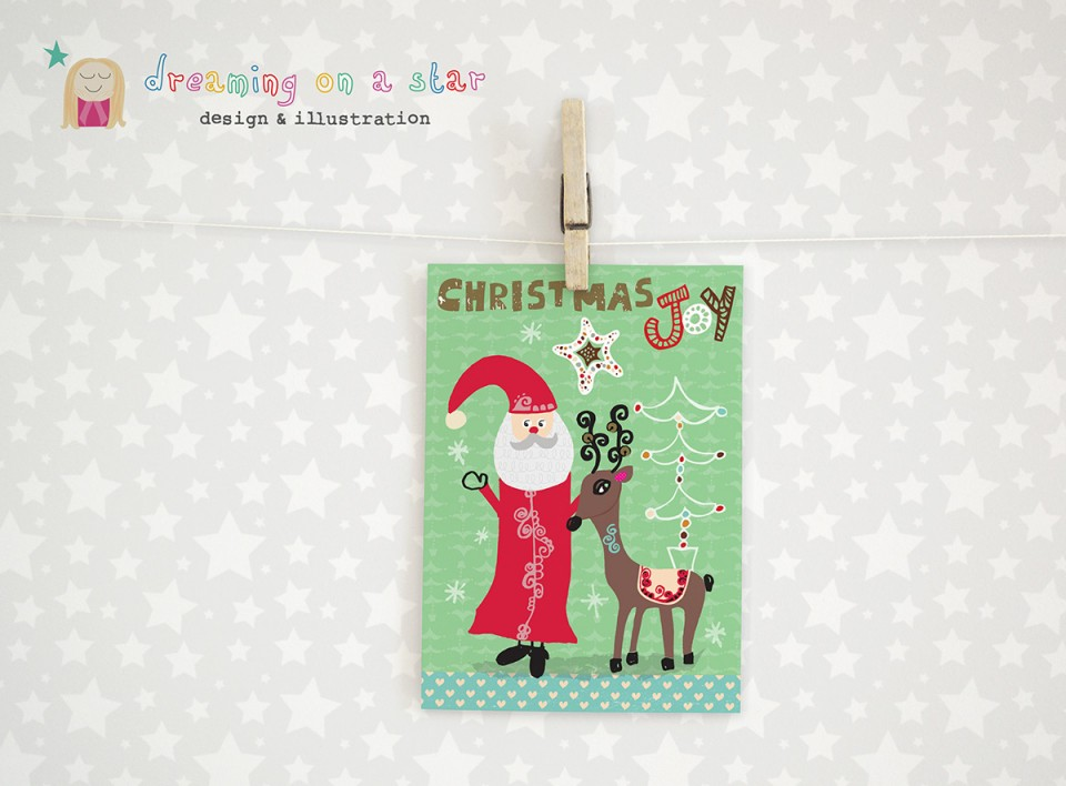 Christmas Card by Dreaming on a Star 2015