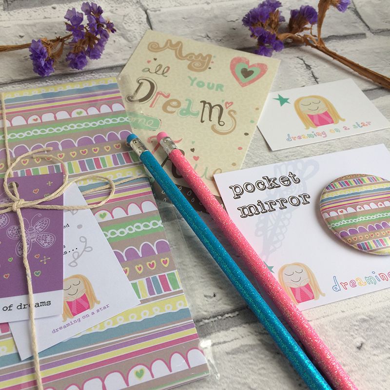 'Butterfly Lines' Stationery Set by Dreaming on a Star